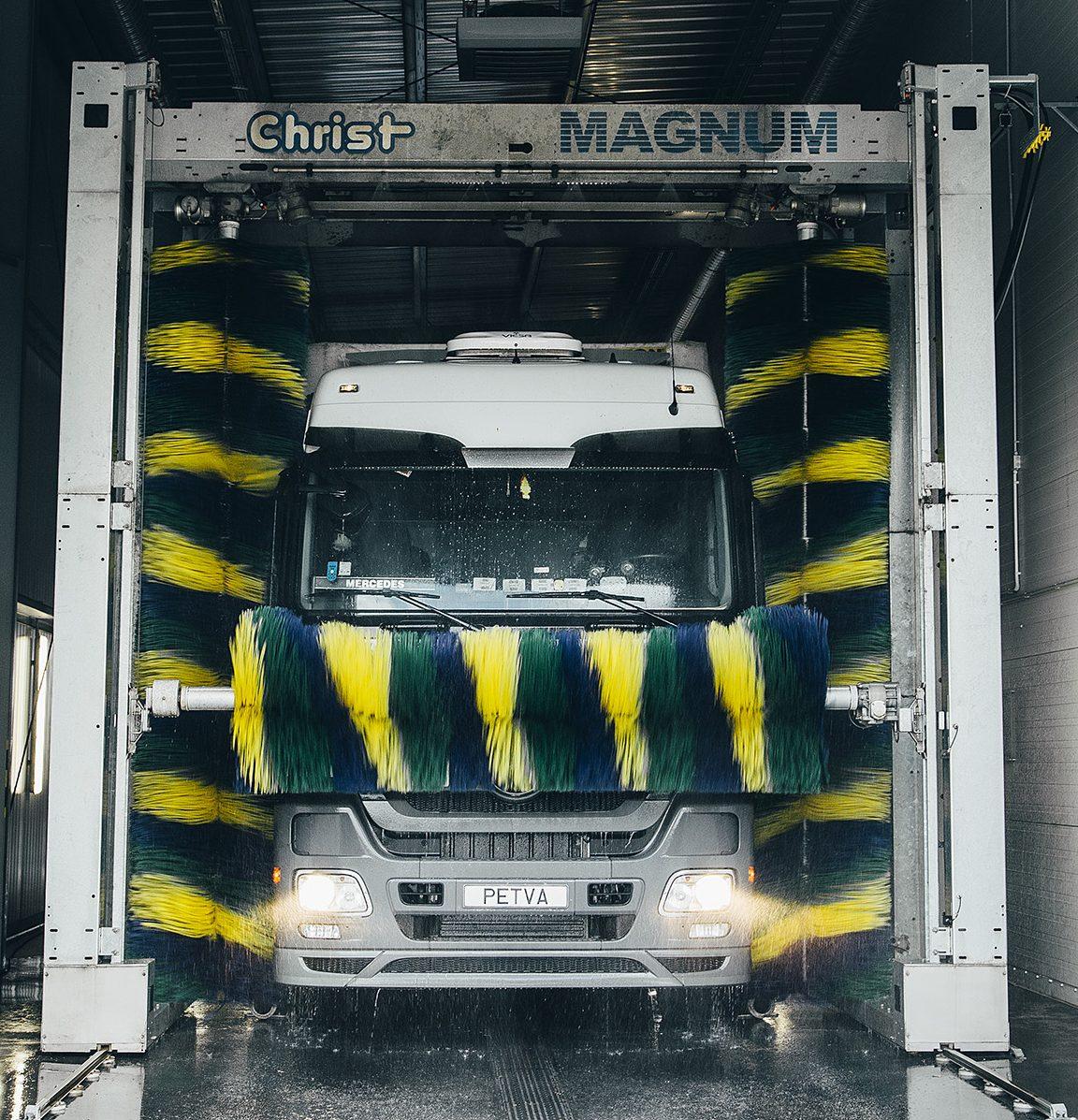 Petva sunkvežimių plovykla